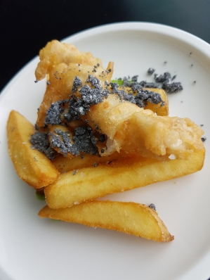 Fish and chip mini dish